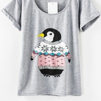 Must-have Penguin Tee - OASAP.com