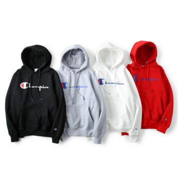 Champion couple sets the head sweater