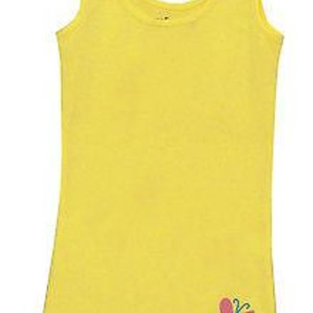 My Little Pony Fluttershy Costume Mighty Fine Cartoon Juniors Tunic Tank Top New