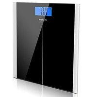 Etekcity Digital Body Weight Scale with Step-On Technology, 400 Pounds, Black