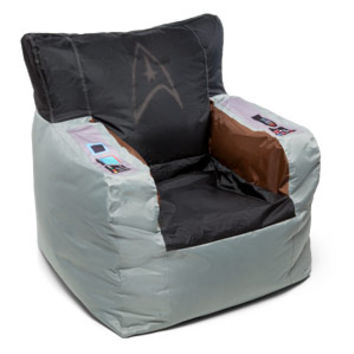 Star Trek Kirk's Command Chair Bean Bag Cover