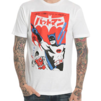 DC Comics Batmanga Batman & Robin T-Shirt