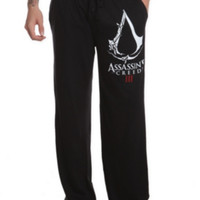 Assassin's Creed III Guys Pajama Pants