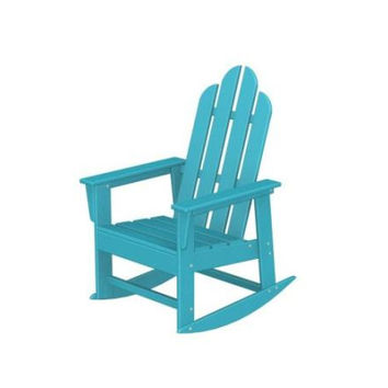 Patio Rocking Chair - Aqua Blue