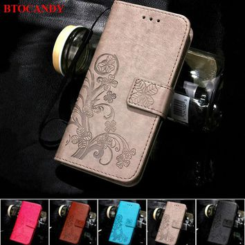 For iPhone 5S 4S 5 6 S 6S 8 7 Plus Leather Flip Case For Samsung Galaxy J5 J7 J3 2016 J1 A3 A5 J5 2017 S5 S7 S6 Edge S3 S4 Mini