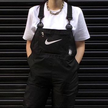 Nike Hot Sale Fashion Women Casual Overalls Jumpsuit 2-Color -1