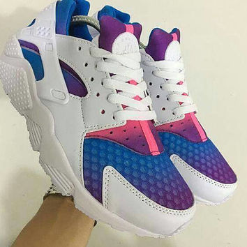 Custom Nike Air Huarache Painted Shoes Originals Nike Sneakers C ea519e390