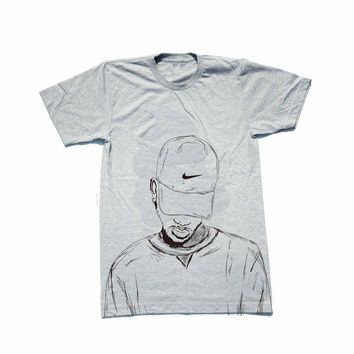Bryson Tiller trapsoul Heather Grey Tee (Unisex) // madness pen griffey 2