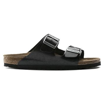 Birkenstock Arizona Birko Flor Graceful Licorice 1009925/1009924 Sandals - Ready Stock
