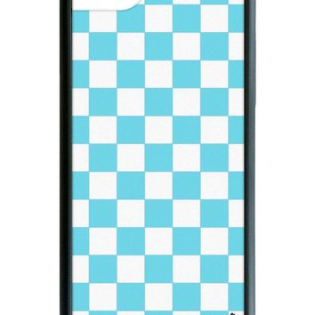 Blue Checkers iPhone 6/7/8 Case