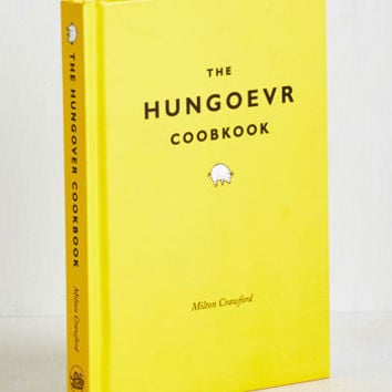 Dorm Decor The Hungoevr Cookbook by ModCloth