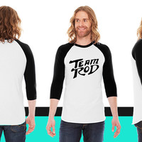 Team Rod Design From Hot Rod the Movie American Apparel Unisex 3/4 Sleeve T-Shirt