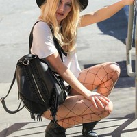 Back to Brooklyn Fringe Backpack