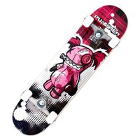 Punisher Skateboards Voodoo  Complete 31-Inch Skateboard All Maple