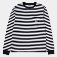 Long Sleeve Haldon Pocket Tee