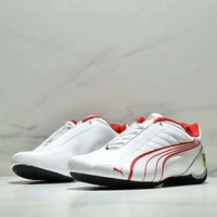 PUMA x Ferrari joint name fashion brand men's racing sports casual shoes