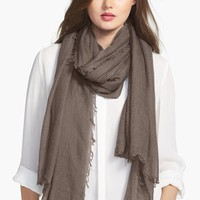 Women's Halogen Crinkled Cashmere Wrap