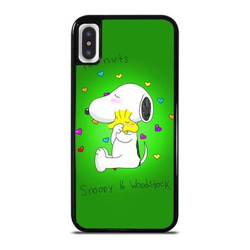 PEANUTS SNOOPY AND WOODSTOCK iPhone X / XS case