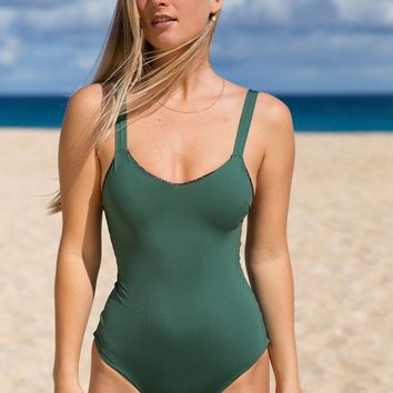 ACACIA Swimwear 2019 Saba One Piece in Monstera