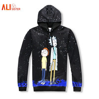 Rick and Morty Spacey Day- Jacket