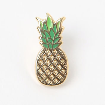 Pintrill Pineapple Pin at PacSun.com