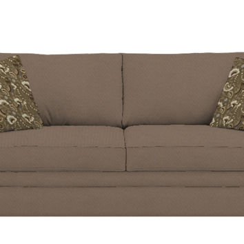 Denver Queen Sleeper Sofa by Savvy in Willow Smoke