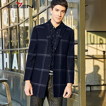 New Arrival Casual Men Plaid Suit Jacket and Blazer Slim Fit High Quality Spring Men Wear