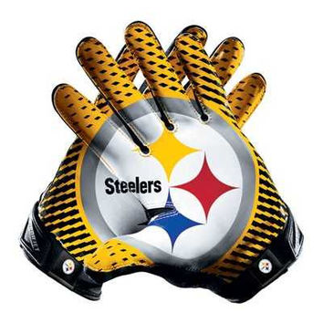 Pittsburgh Steelers Team Vapor Jet 2.0 Gloves