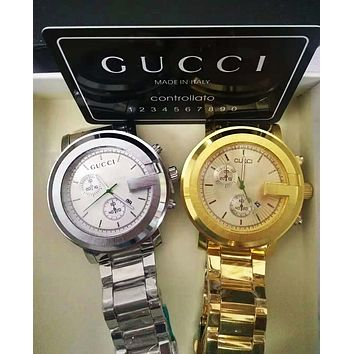 GUCCI Fashionable Women Men Classic Quartz Watches Wrist Watch Cartier Bracelet I/A