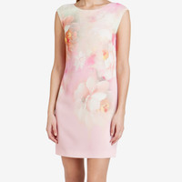 Rose on canvas tunic dress - Nude Pink | Dresses | Ted Baker
