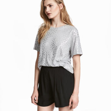 H&M Wide-cut Shorts $12.99