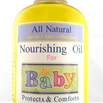 All Natural Nourishing Organic Baby Oil