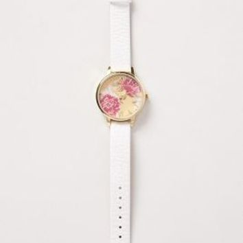 Wonderland Garden Watch by Olivia Burton