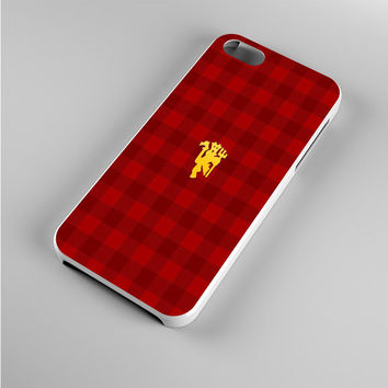 manchester united logo Iphone 5s Case