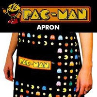 Pac-Man Kitchen Apron
