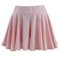 Pleated Shorts in Pink