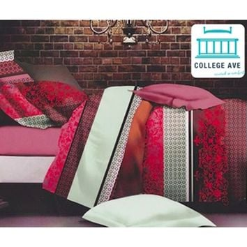 Twin XL Comforter Set Apathy Fury Girls College Dorm Bedding