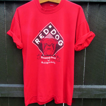 Vintage 1990s Red Dog Beer TShirt