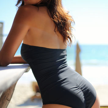 Cape Cod V Cut One Piece Swimsuit