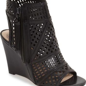 Vince Camuto 'Xabrina' Perforated Wedge Sandal (Women) | Nordstrom