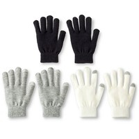 Tech Touch Winter Gloves 3-Pack - Multicolor