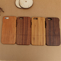Genuine Natural Wood Bamboo Case For iPhone