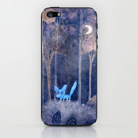 little fox iPhone & iPod Skin by Marianna Tankelevich