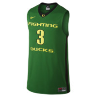 Nike College Authentic (Oregon) Men's Basketball Jersey Size Small (Green)