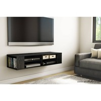 "South Shore City Life 48"" Wall Mounted TV Stand, Multiple Colors - Walmart.com"