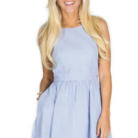 Lauren James Emerson Dress in Navy