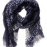 Banana Republic Hayley Scarf Size One Size - Navy