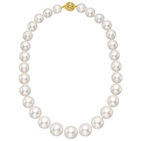 South Sea Pearl Necklace with 18k Gold Clasp