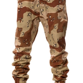The Rich Drop Crotch Jogger (Desert Camo)