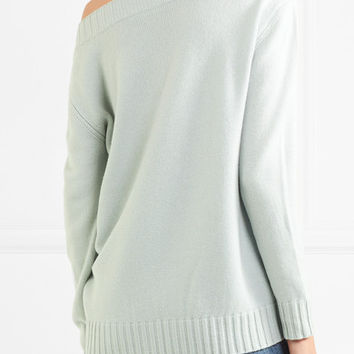 Vince - One-shoulder wool and cashmere-blend sweater